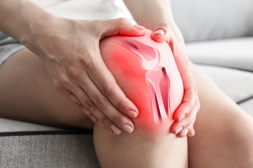 What are the most common forms of knee pain?
