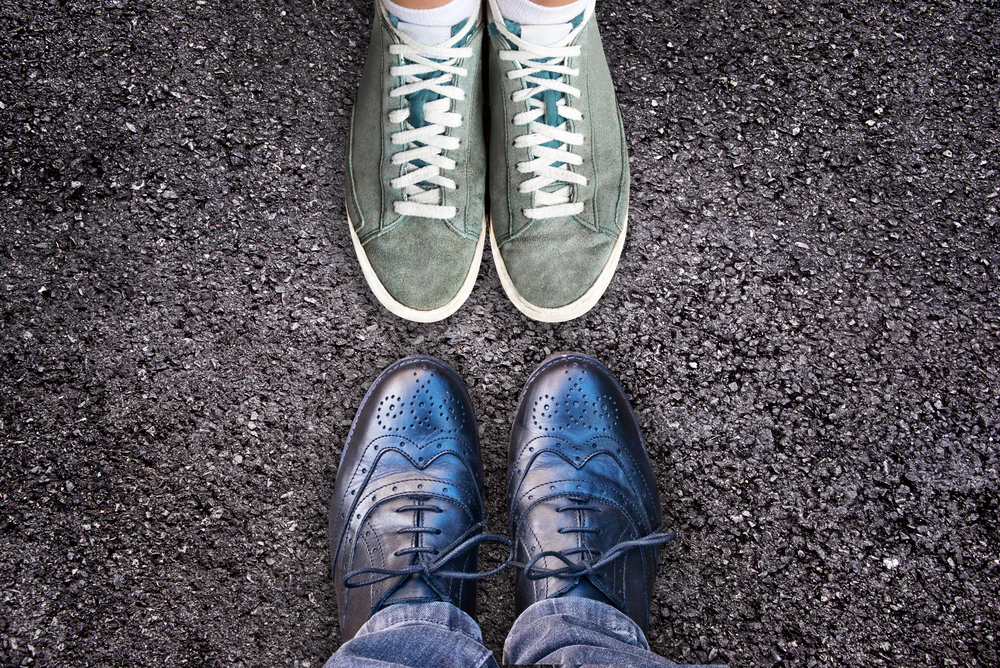 How to choose the right shoes when we have flat feet?