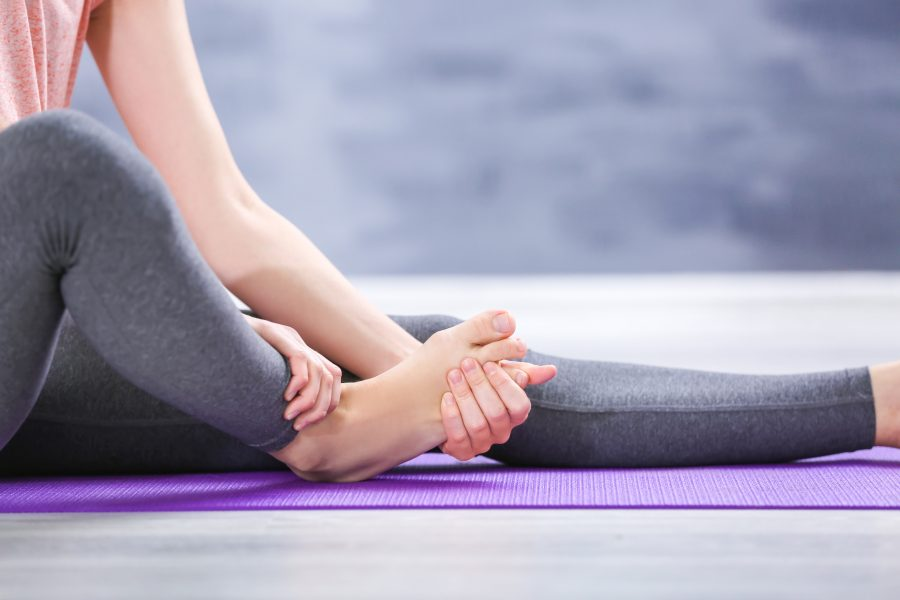 How to relieve foot cramps?
