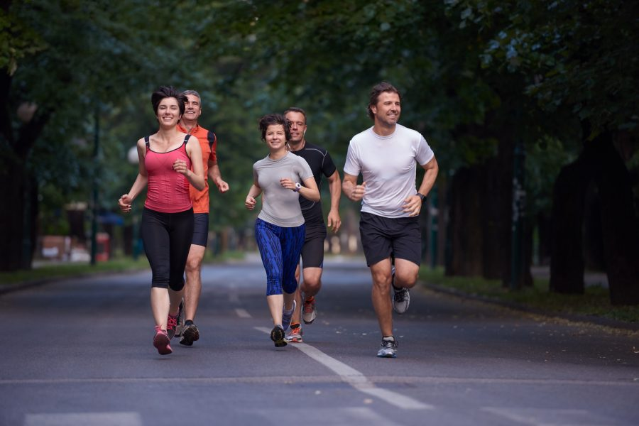 How can you get back into running after an injury?