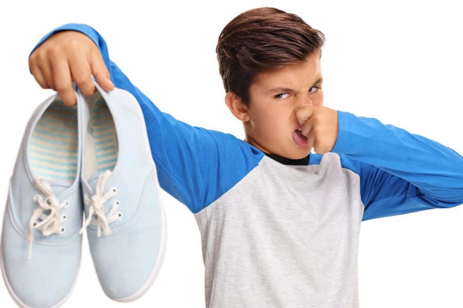 How can you prevent foot perspiration?