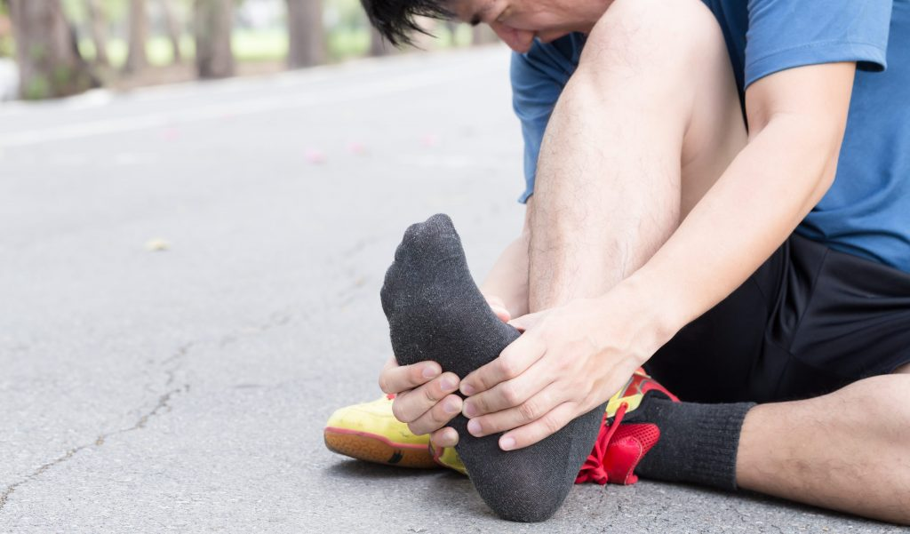 How do I treat my plantar fasciitis at home?